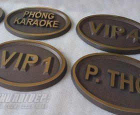 bảng tên phòng karaoke